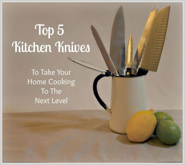 UrbanistaAtHome.Com - Top 5 Kitchen Knives To Take Your Home Cooking To The Next Level