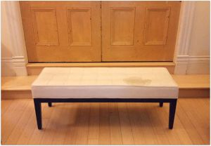UrbanistaAtHome.com - DIY Re-Upholstered Bench On A Budget 2