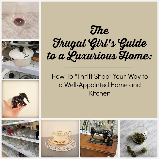 UrbanistaAtHome.com - Frugal Girl's Guide Thrift Shopping